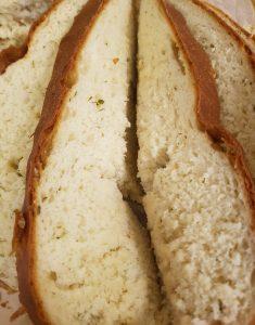 פרוסות רכות וריחניות של הלחם